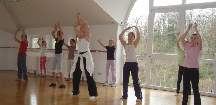 Bewegungsraum für Große Jazz Dance (1)