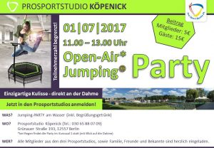 Jumping Party 2017 Köp quer